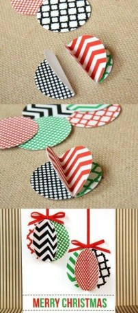 Easy DIY Christmas Ornaments Decoration Ideas 23