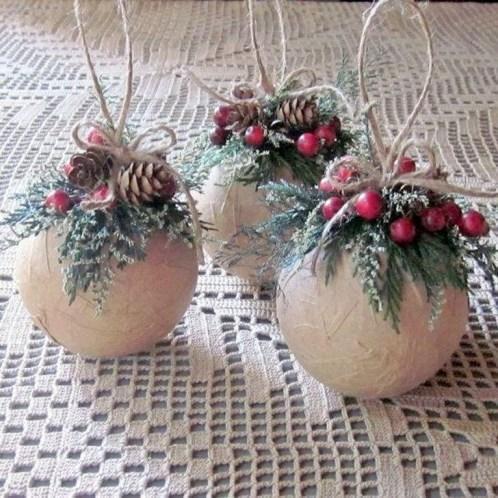 Easy DIY Christmas Ornaments Decoration Ideas 38