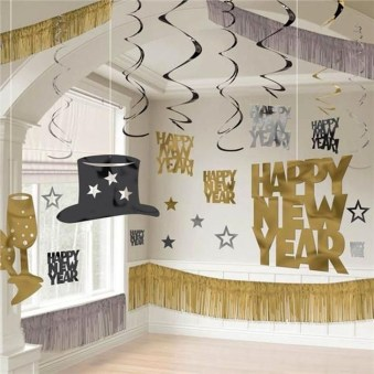 Easy DIY New Years Eve Party Decor Ideas 06