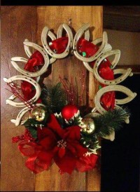 Excellent Christmas Wearth Decoration For Your Door 07