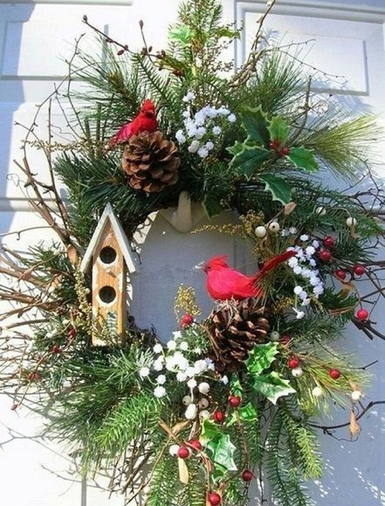 Excellent Christmas Wearth Decoration For Your Door 11