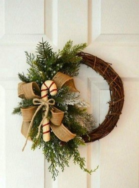 Excellent Christmas Wearth Decoration For Your Door 18