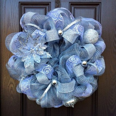 Excellent Christmas Wearth Decoration For Your Door 36