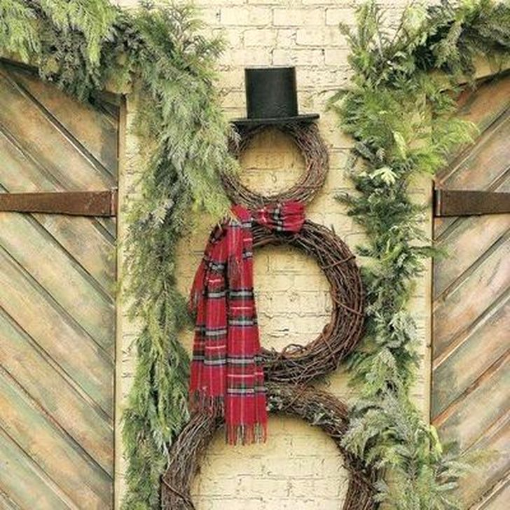 Excellent Christmas Wearth Decoration For Your Door 39