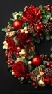 Excellent Christmas Wearth Decoration For Your Door 47