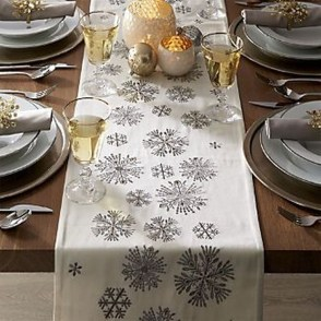 Eye Catching Kitchen Table Christmas Decoration Ideas 02