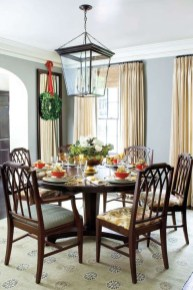 Eye Catching Kitchen Table Christmas Decoration Ideas 13