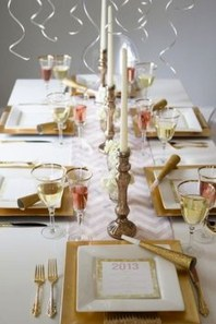Fantastic New Years Eve Party Table Decoration Ideas 41