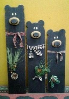 Inspiring Wooden Winter Decoration Ideas 02