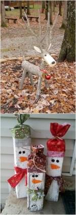 Inspiring Wooden Winter Decoration Ideas 06