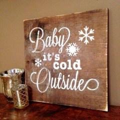 Inspiring Wooden Winter Decoration Ideas 11