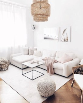 Lovely Neutral Decoration Ideas For Your Living Room 16