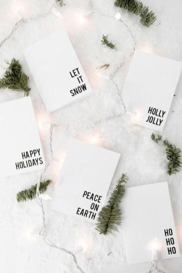 Minimalist Christmas Decoration On A Budget 53