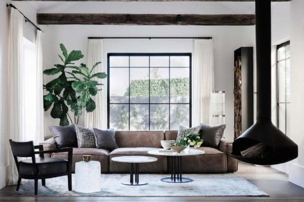 Popular Winter Living Room Design For Inspiration 23