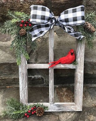 Rustic Farmhouse Christmas Decoration Ideas 28