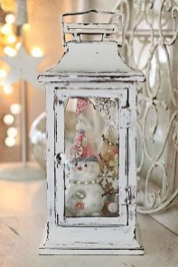 Stunning Shabby Chic Christmas Decoration Ideas 02