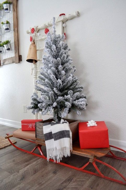 Stunning Shabby Chic Christmas Decoration Ideas 05