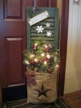 Stunning Shabby Chic Christmas Decoration Ideas 16