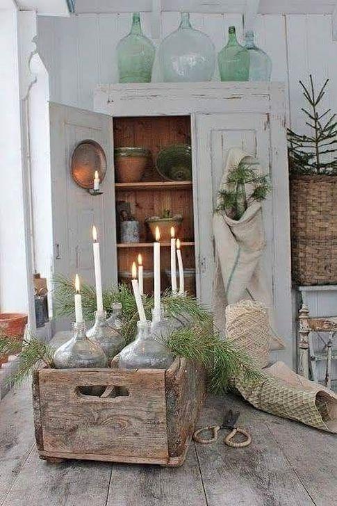 Stunning Shabby Chic Christmas Decoration Ideas 18
