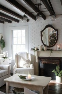 Stunning Shabby Chic Christmas Decoration Ideas 22
