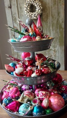 Stunning Shabby Chic Christmas Decoration Ideas 24