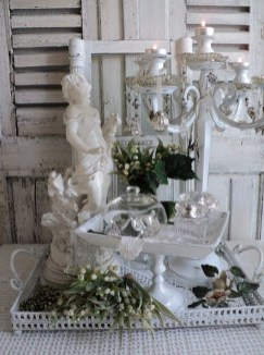 Stunning Shabby Chic Christmas Decoration Ideas 32