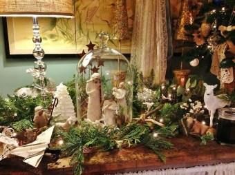 Stunning Shabby Chic Christmas Decoration Ideas 36