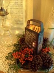 Stunning Shabby Chic Christmas Decoration Ideas 37