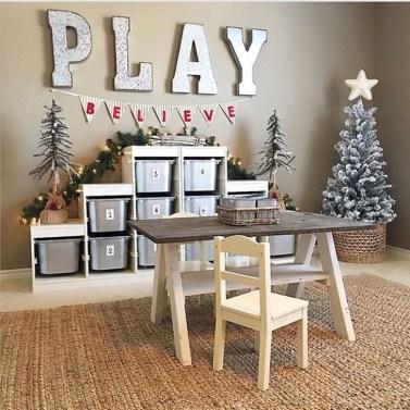 Stunning Shabby Chic Christmas Decoration Ideas 41