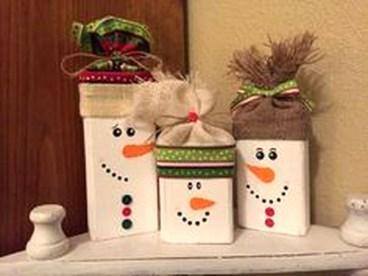 Stunning Shabby Chic Christmas Decoration Ideas 44
