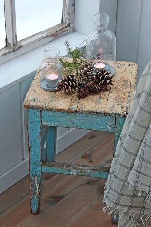 Stunning Shabby Chic Christmas Decoration Ideas 47