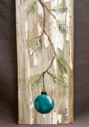 Stunning Shabby Chic Christmas Decoration Ideas 48