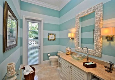 Adorable Beach Bathroom Design Ideas 18