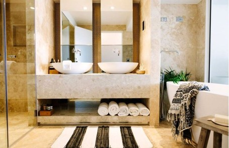 Adorable Beach Bathroom Design Ideas 28
