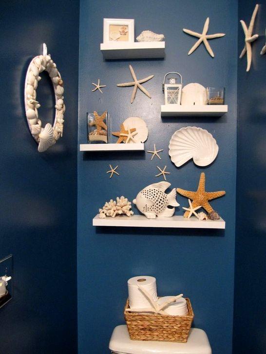 Adorable Beach Bathroom Design Ideas 30