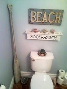 Adorable Beach Bathroom Design Ideas 46