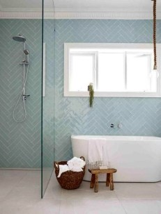 Adorable Beach Bathroom Design Ideas 48