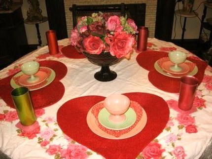 Beautiful Valentines Day Table Decoration Ideeas 27