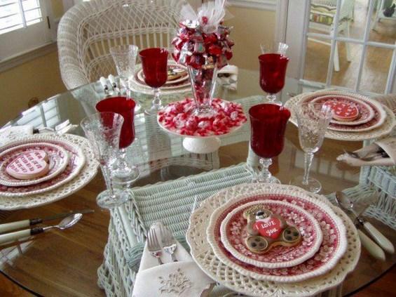 Beautiful Valentines Day Table Decoration Ideeas 35