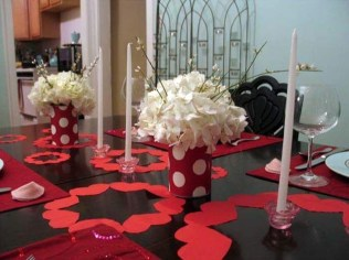 Beautiful Valentines Day Table Decoration Ideeas 51