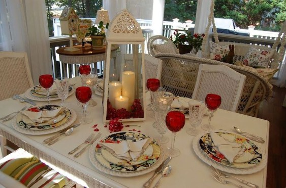 Beautiful Valentines Day Table Decoration Ideeas 55