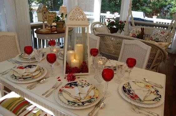 Beautiful Valentines Day Table Decoration Ideeas 55