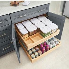 Best DIY Kitchen Storage Ideas For More Space In The Kitchen 29