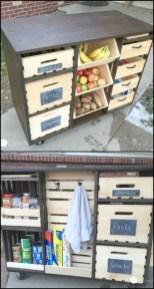 Best DIY Kitchen Storage Ideas For More Space In The Kitchen 30