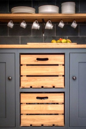Best DIY Kitchen Storage Ideas For More Space In The Kitchen 36