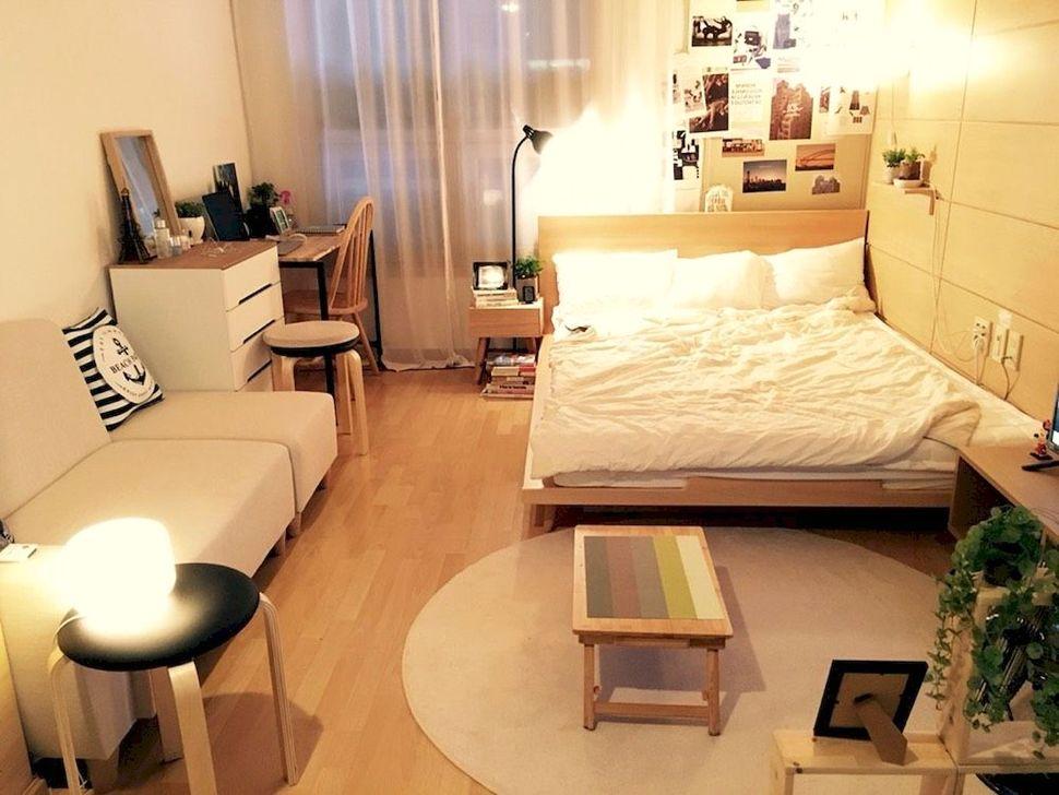 Brilliant Studio Apartment Decor Ideas On A Budget 12