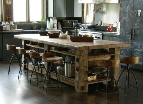 Cool Kitchen Island Design Ideas 23