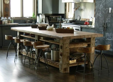 Cool Kitchen Island Design Ideas 23