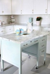 Cool Kitchen Island Design Ideas 45