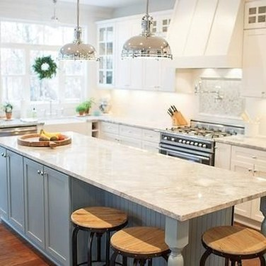 Cool Kitchen Island Design Ideas 48